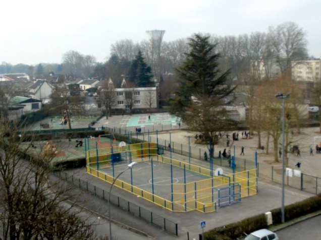 Ecole de la Jeannotte - les abords janvier 2016