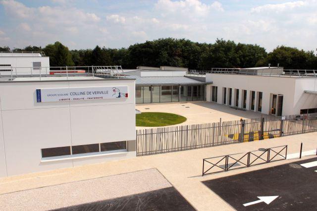 Artelia école de la Verville Mennecy 2013