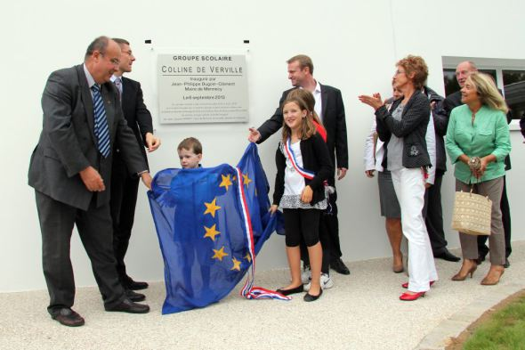 Ecole de la Verville Mennecy 6 Septembre 2013 inauguration