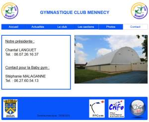 Accueil gym club
